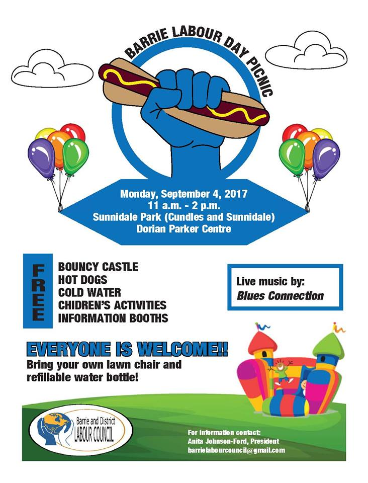 Barrie Labour Day Event